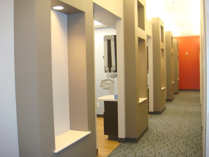 Traders Point Dental Office Hallway