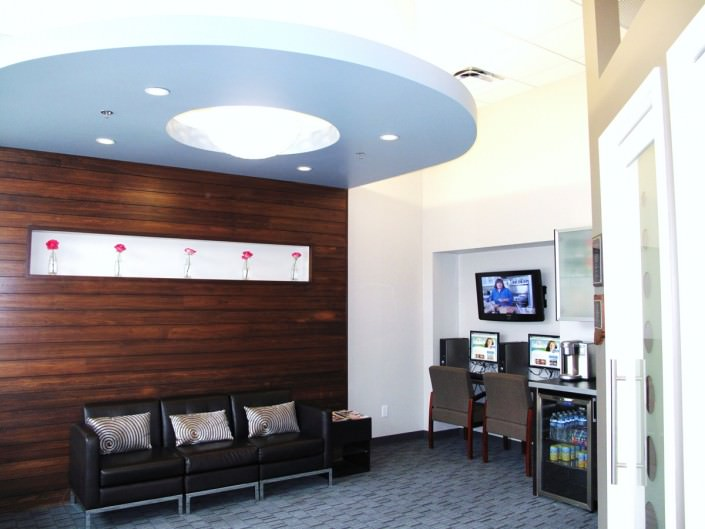 Traders Point Dental Office Reception Area